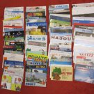 LOT #3 OF 100 VINTAGE QSL RADIO AMATEUR STATIONS CARDS VARIOUS COUNTRIES