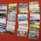 LOT #4 OF 100 VINTAGE QSL RADIO AMATEUR STATIONS CARDS VARIOUS COUNTRIES