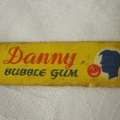 RARE VINTAGE 50's 60's ISRAEL RUTH CHEWING BUBBLE GUM WRAPPER DANNY