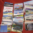 LOT OF 86 VINTAGE QSL RADIO AMATEUR STATIONS CARDS VARIOUS COUNTRIES