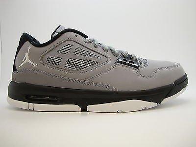 92b31619a82b  525512-004  Mens Air Jordan Flight 23 RST Low Stealth Black White Gym  Sneakers