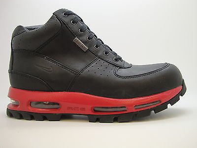 new styles abfb5 a5e7f  314346-061  Mens Nike Air Max Goadome GTX Gore-Tex ACG Black Red Weather  Boot