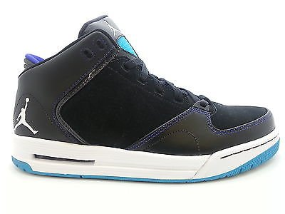 the latest bc8ad 0d142  467888-018  Mens Air Jordan As-You-Go Aquatone Concord Black Casual  Sneakers QS