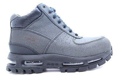 reputable site c8706 a33b1  616174-090  Mens Nike Air Max Goadome TT Tech Tuff 2013 All Black ACG Boots