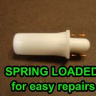 50 QTY: Spring Loaded Shutter Repair Pins,Fits Most Plantation Shutter/ EASY DIY
