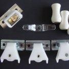 ROMAN/ PLEATED SHADE KIT: 1 CORD LOCK, 3  PULLEYS, 3 CORD TASSELS, 1 CORD CLEAT