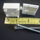 2 Qty: Hunter Douglas SPACER BLOCK for  DUET Honeycomb Cellular Shade,w/ SCREWS