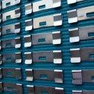 32 QTY:VERTICAL BLIND SLAT REPAIR CLIPS (flat / silver) VANE SAVER: EASY DIY FIX