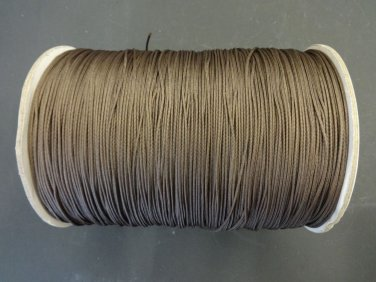 100 FEET 1.8mm CHAR BROWN LIFT CORD for Blinds , Shades, Crafts,and More!.