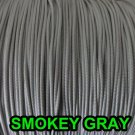 100 FEET 1.8mm SMOKEY GRAY  LIFT CORD for Blinds , Shades, Crafts, and more.