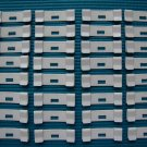 35 QTY: VERTICAL BLIND SLAT  REPAIR CLIPS (curved/ivory) VANE SAVER:EASY DIY JOB