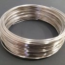 BRACELET sized MEMORY WIRE for Jewlery Making and Beading : Sold by Loop Count