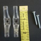 2 Qty. : CORD CLEAT for all cords/ with  2 SCREWS & instruction  included