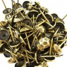 C.S. Osborne Oxford Hammered Nail Tacks Antique Brass 100pk [Office Product]