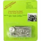 Set-Iy-Yourself Snap-Fastener Kit Baby Snaps [Office Product]