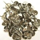 C.S. Osborne Natural French Nail Tacks Silver Plated 100pk [Office Product]