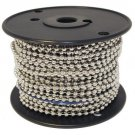Ball Chain #10 Spool Nickel Plated Steel 100 Feet