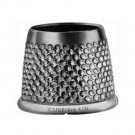 1 QTY: C.S. Osborne Open End Sewing Thimble ( Size 12 )