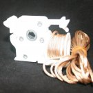 PRE-CORDED Low Profile Cord Tilt Control  for Horizontal Blinds /HEX ROD/ MAPLE