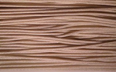 100 YARDS: 1.4mm Professional Lift Cord for Blinds and Shades: TAN (LIGHT BROWN)