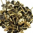 C.S. Osborne Oxford Hammered Nail Tacks Antique Brass 100pk