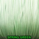 40 FEET:1.8mm SPRING GREEN LIFT CORD for ROMAN/PLEATED shades & blinds