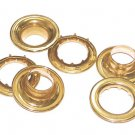 "144 QTY:C.S. Osborne  G2-6  3/4"" ROLLED RIM BRASS GROMMETS & SPUR WASHERS :13056"
