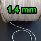 100 Yards:  WHITE 1.4mm Professional Grade  Lift Cord :Perfect for Roman Shades