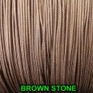 20 FEET:1.6 MM BROWNSTONE LIFT CORD for ROMAN/PLEATED shades &HORIZONTAL blind