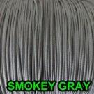 50 FEET:1.6 MM SMOKEY GRAY LIFT CORD : ROMAN/PLEATED shade & HORIZONTAL blind