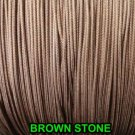 20 FEET:1.8 MM BROWNSTONE LIFT CORD for ROMAN/PLEATED shades &HORIZONTAL blind