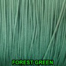 100 FEET: 1.8 MM Forest Green Professional Braided Lift Cord/ Blinds & Shades