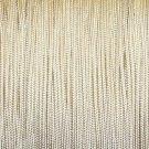10 YARDS: 1.4 MM VANILLA Professional Grade Nylon Lift Cord For Blinds & Shades