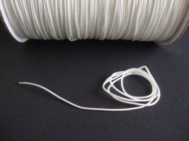 50 FEET:1.8 MM WHITE LIFT CORD for Blinds, Roman Shades and More