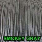 40 FEET:1.8 MM SMOKEY GRAY LIFT CORD: ROMAN/PLEATED shades &HORIZONTAL blind