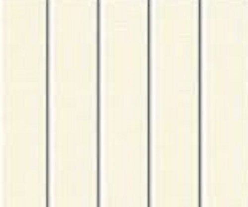 PVC Vertical Blind Replacement Slat (Ivory) 5 Pk 84  X 3 1/2