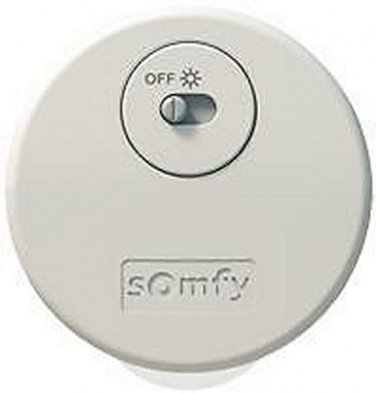 1 QTY:SOMFY Sunis Indoor WireFree� RTS Sun Sensor (#9013707)for Motorized System