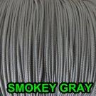 20 FEET: 1.2 MM, SMOKEY GREY Professional Grade LIFT CORD for Window Treatments