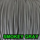 60 FEET: 1.2 MM, SMOKEY GREY Professional Grade LIFT CORD for Window Treatments