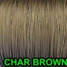 25 YARDS: 0.9 MM, CHAR BROW Professional Grade Nylon Lift Cord For Window Treatm