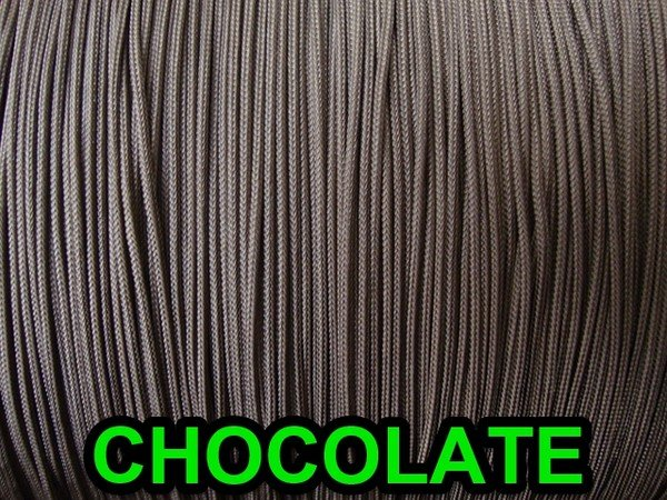 60 FEET: 1.4 MM CHOCOLATE LIFT CORD for Blinds, Roman Shades and More