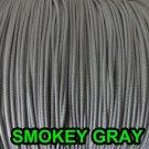 50 FEET: 1.6 MM SMOKEY GRAY LIFT CORD : ROMAN/ PLEATED shade & HORIZONTAL blinds