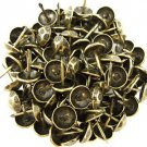 C.S. Osborne Oxford Hammered Nail Tacks Antique Brass 100pk, Model: 88-6800101 (