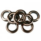 "#10 Plastic Grommet, 1 3/8"", 8 Sets, ANT. COPPER"