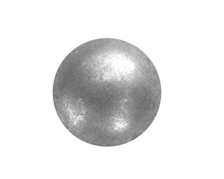 100 QTY: C.S.Osborne & Co. No. 6987-ZPM 5/8 - Zinc Plated Matt Pewter - Low Dome