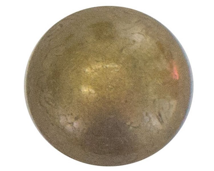 50 QTY: C.S.Osborne & Co. No. 6932-FN 5/8 - French Natural Nail - Low Dome/ post