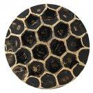 50 QTY: C.S.Osborne & Co. No. 6910-BL - Honey Comb Bronze Lacquered Nail/ post :