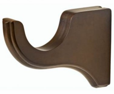 "Kirsch Wood Trends Classics 4 1/2"" Return Bracket for 3"" pole,  Hazelnut (MPN# 5"