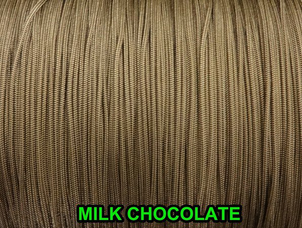 1000 YARDS: 1.2 MM, MILK CHOCOLATE Professional Grade LIFT CORD for Window Treat