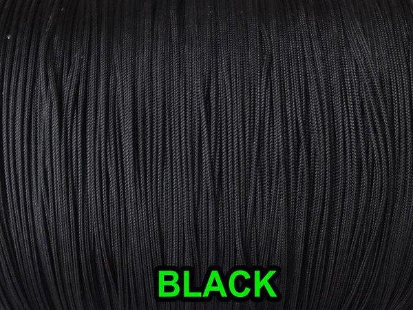 100 YARDS: 1.2 MM, BLACK Professional Grade LIFT CORD for Window Treatments